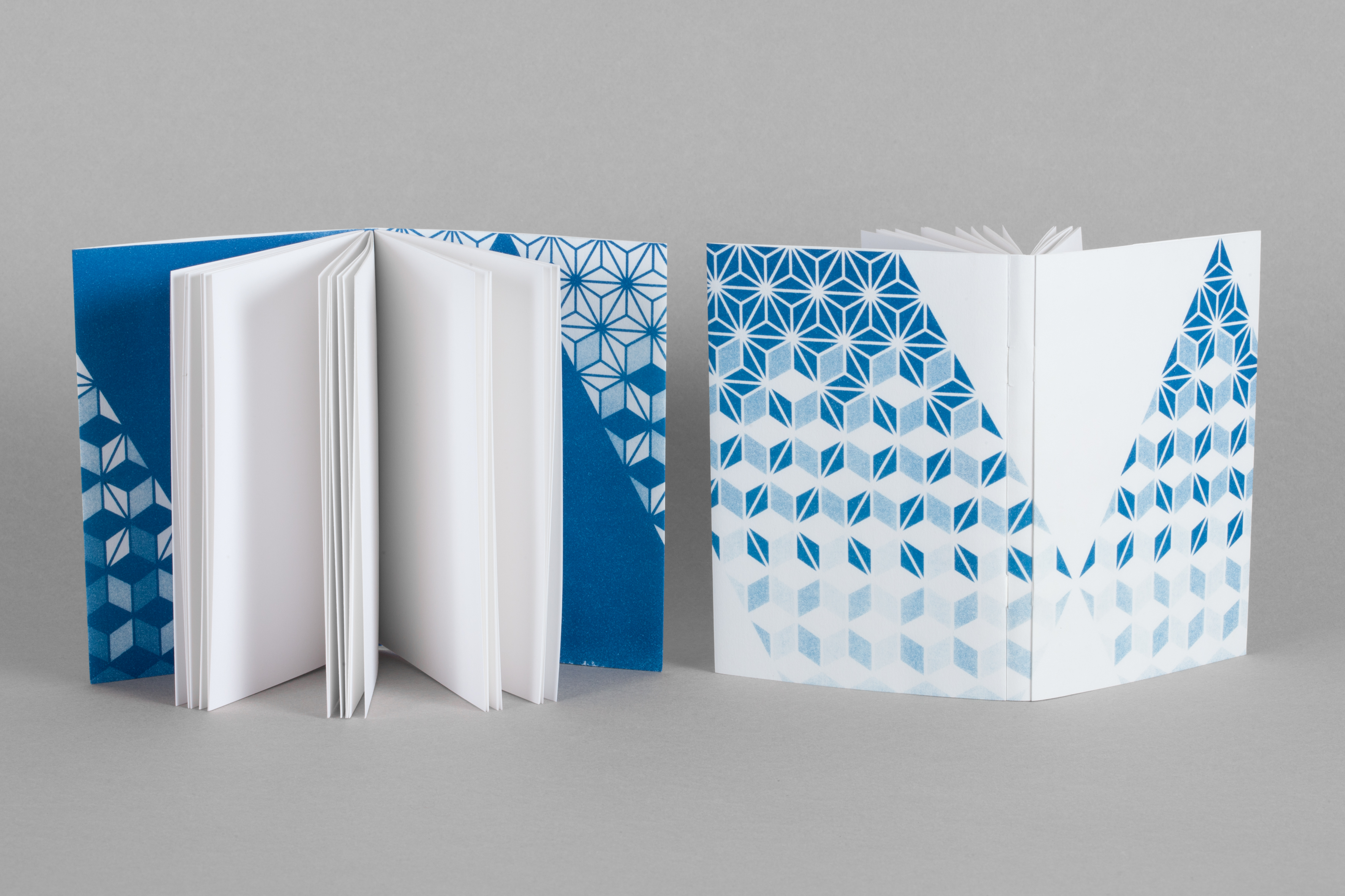 reliure, bookbinding, carnets, papeterie, papeterie-art, notebook, cyanotype