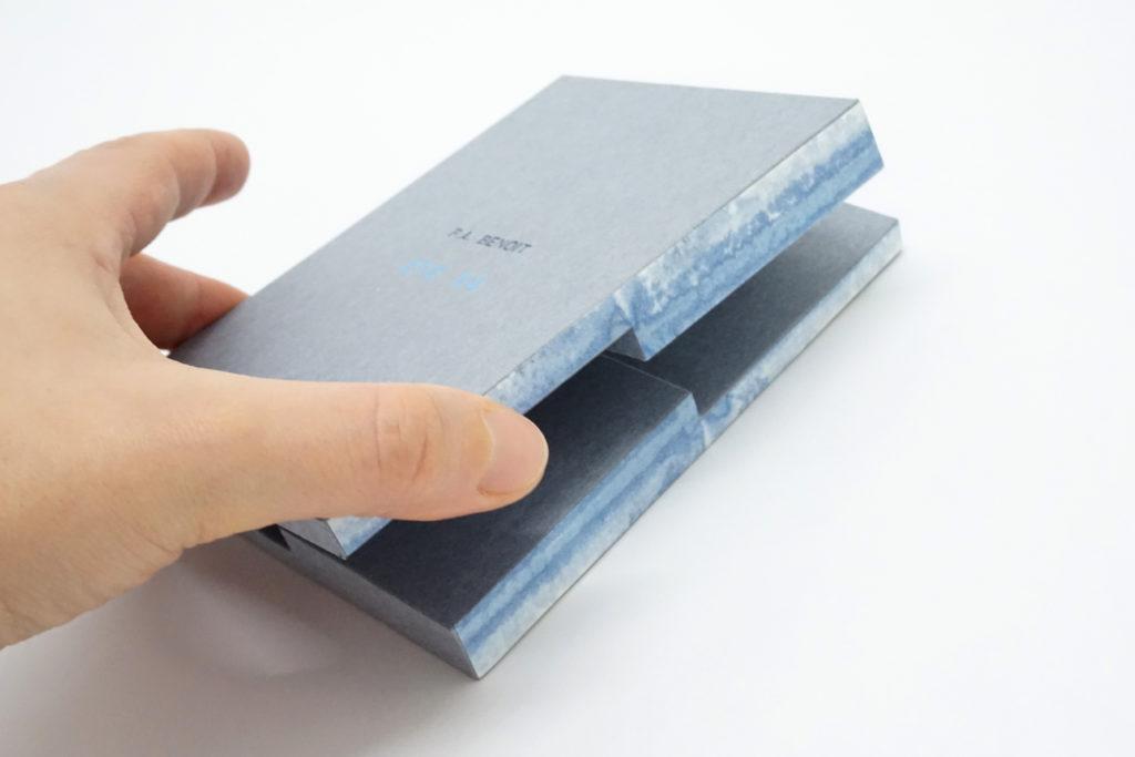 reliure-origata-papier, origata-binding, origata-bookbinding, orizomegami, reliure, bookbinding, reliure-art, reliure-creation, reliure-contemporaine, julie-auzillon, coffret, boite, coffret-reliure, bookbinding-box