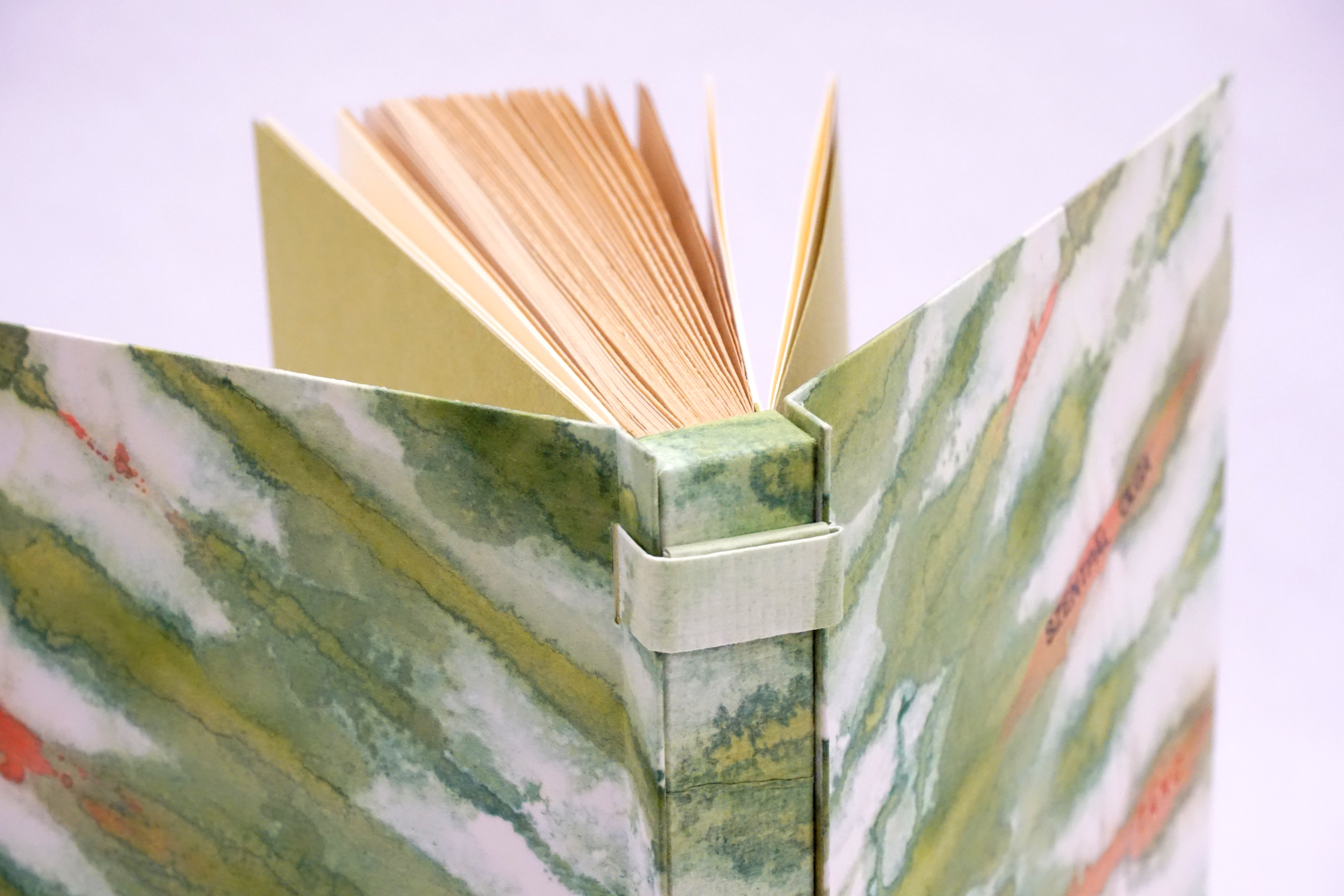 reliure-art, reliure-creation, reliure-france, bookbinding, art-bookbinding, creation-bookbinding, french-bookbinding, paper-bookbinding, reliure-papier, julie-auzillon, obi-ori-dome